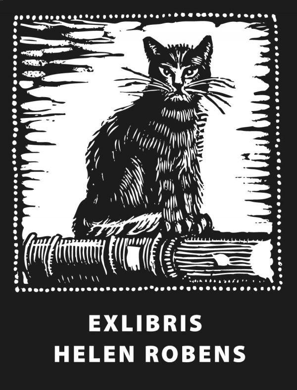 Ex Libris Katze