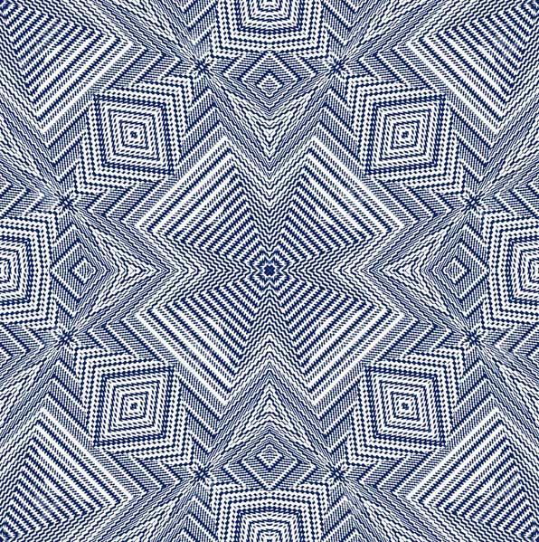 Textilmuster aus Mexiko