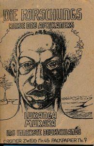 Forschungsreise des Afrikaners