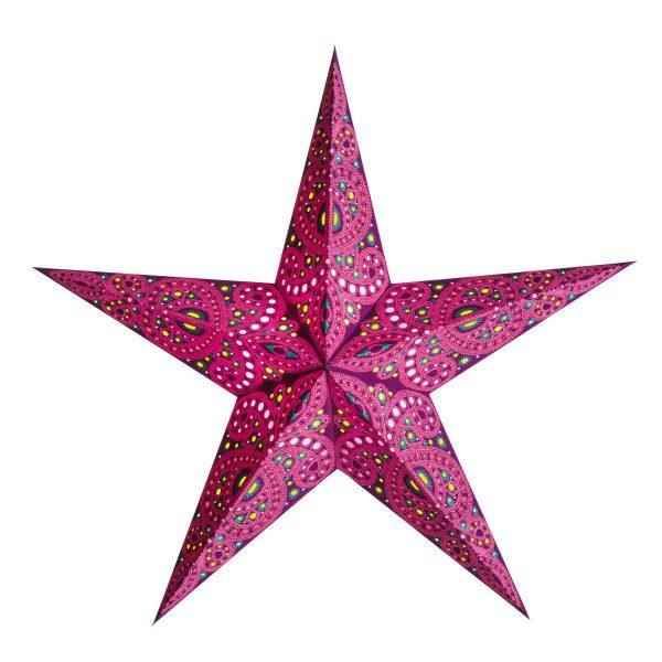 Stern Lampe Devi Rot
