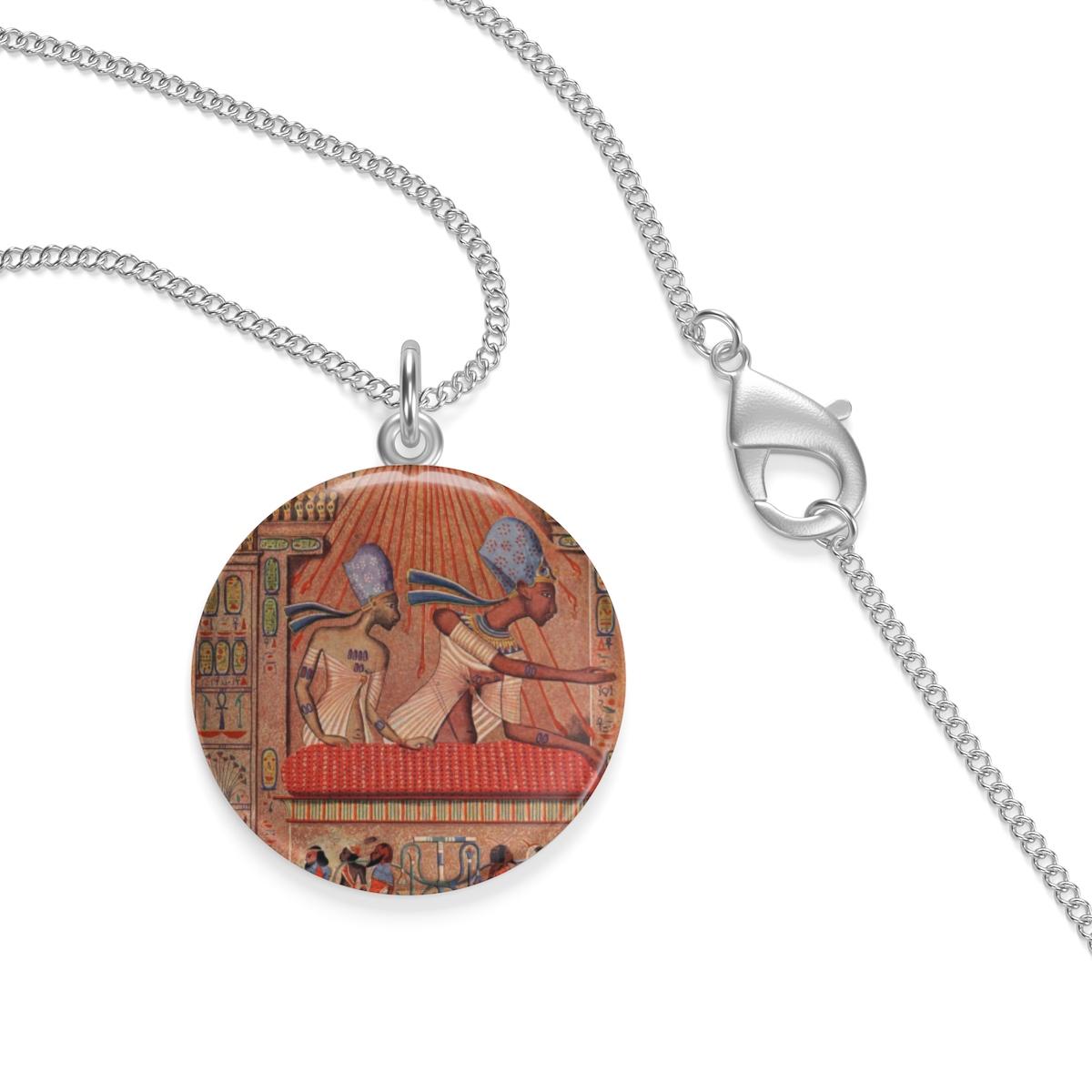 Anhänger Ägypten Hieroglyphen Halskette