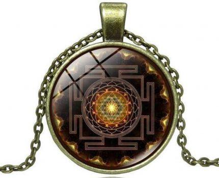 Sri Yantra Halskette