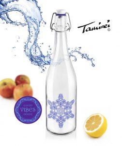 Platikfreie Wasserflasche mit Leitungswasser