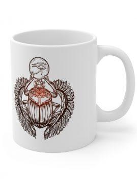 Skarabäus mit Udjat Horus Auge Symbolik